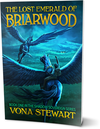 Cover of The Lost Emerald of Briarwood